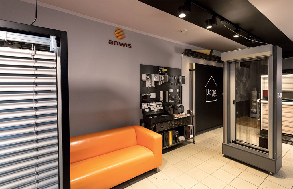 Sala sprzedaży zajmuje ok. 100 m2 powierzchni